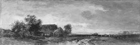 Ein Bauernhaus