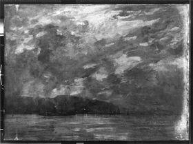 Sommernacht (Küste mit Schiffen)