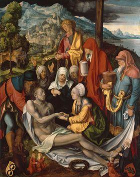"""Beweinung Christi (""""Glimsche Beweinung"""")"""