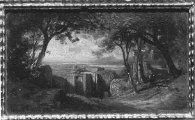 Ruine Falkenstein mit Fernsicht