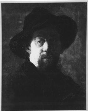 Bildnis eines Mannes mit Schlapphut