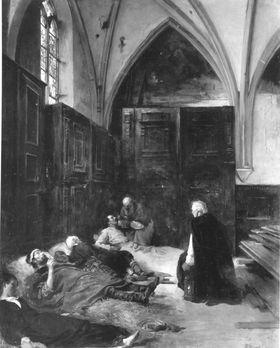 Der hl. Karl Borromäus bei den Pestkranken