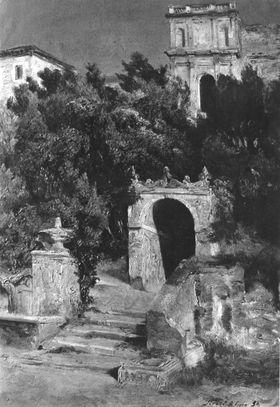 Park der Villa d'Este in Tivoli