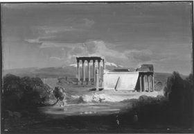 Die Ruinen von Baalbek