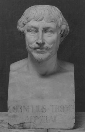 Der niederländische Admiral Cornelis Maartenszoon Tromp (1629 - 1691)
