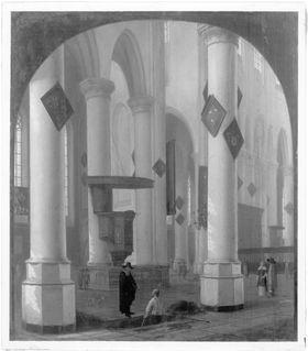 Inneres der Nieuwe Kerk in Delft
