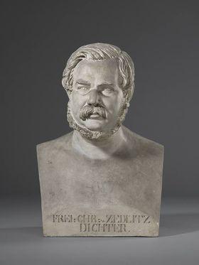 Der österreichische Offizier und Dichter Joseph Christian von Zedlitz (1790 - 1862)