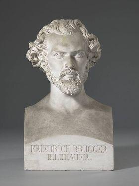 Der Bildhauer Friedrich Brugger (1815 - 1870)