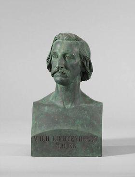 Der Maler Wilhelm Lichtenheld (1817 - 1891)