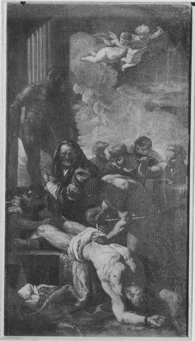 Die Marter des hl. Erasmus