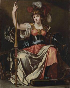 Allegorische Figur des Krieges (Pallas)