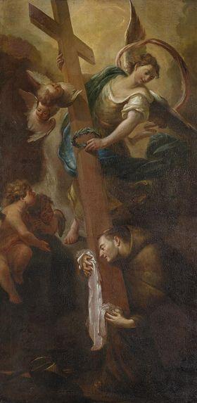 Der hl. Petrus von Alcantara in Ekstase