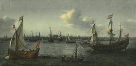 Der Seehafen von Amsterdam