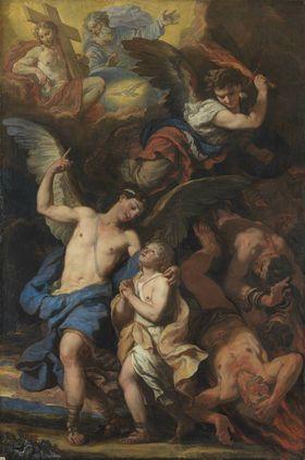 Der Schutzengel und der Erzengel Michael