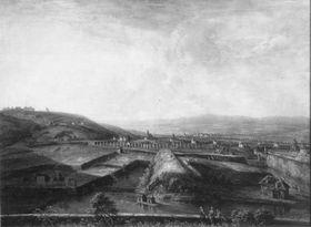 Rheinlandschaft bei Hochheim