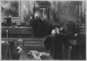 Die Stunde der Entscheidung im Gerichtssaal