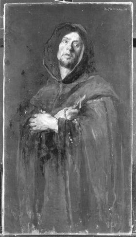 Ein Mönch