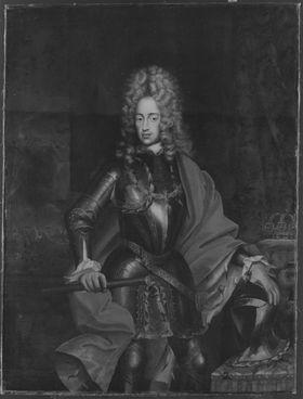 Bildnis des Königs Karl III. von Spanien, später Kaiser Karl VI.