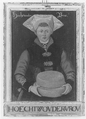 Kostümbild Hoechtwouder Vrou