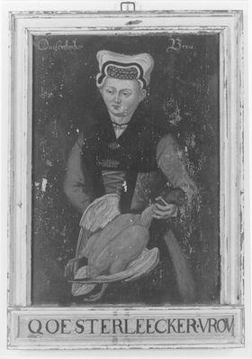 Kostümbild Ooesterleecker Vrou