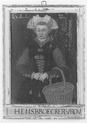 Kostümbild Hensbroecker Vrou