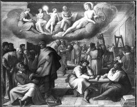Allegorie auf Kunst und Wissenschaft