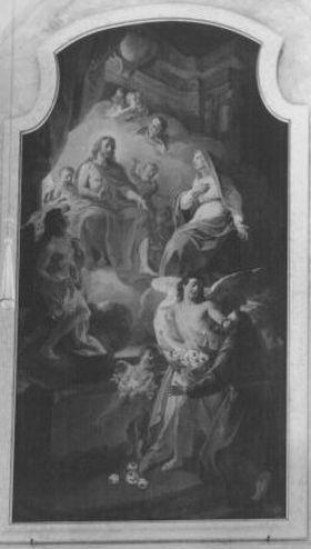 Christus erscheint dem hl. Franziskus von Assisi