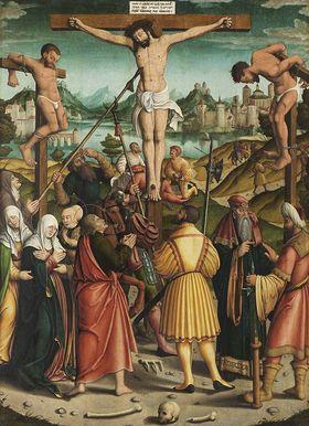 Kalvarienberg Rückseite: Christus als Schmerzensmann