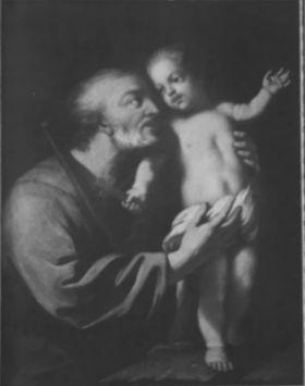 Der hl. Joseph mit dem Jesusknaben