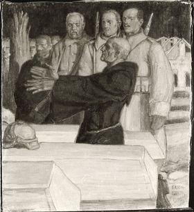 Morgenrot (Soldatenbegräbnis)