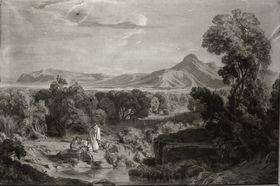 Landschaft in Palästina