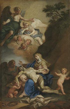 Der Leichnam Christi im Schoße Mariens
