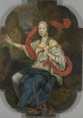 Bildnis einer Hofdame