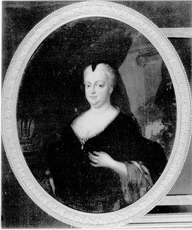 Bildnis der Kaiserin Wilhelmine Amalie von Braunschweig-Lüneburg vermählt mit Kaiser Joseph I.