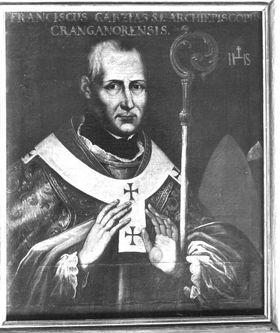 Bildnis des Jesuitenbischofs Franz Garzias