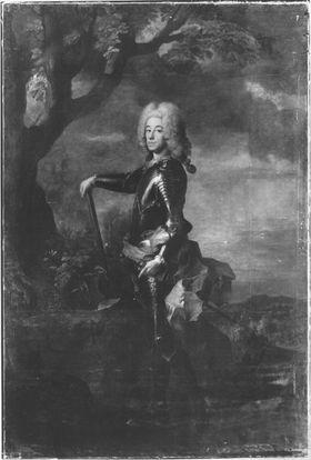 Kurfürst Karl Albrecht von Bayern, nachmaliger Kaiser Karl VII (1697-1745)