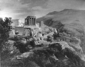 Tivoli mit dem Sibyllentempel