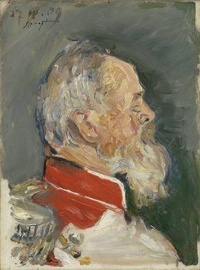 Prinzregent Luitpold, Brustbild im Profil