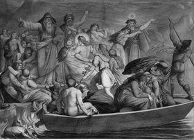 Götterszene aus der nordischen Mythologie