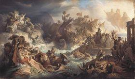 Die Schlacht bei Salamis