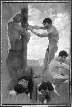 Die Fesselung des Odysseus