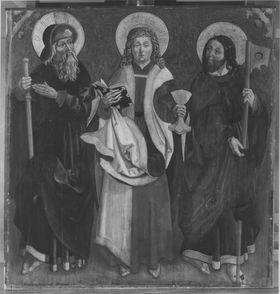 Die hll. Apostel Jakobus d. Ä., Johannes Ev. und Jakobus d. J.
