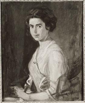 Bildnis einer jungen Dame (Hilde Herterich, Nichte des Künstlers)