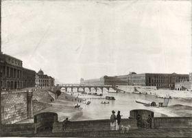 Blick von der Neuen Brücke auf Paris