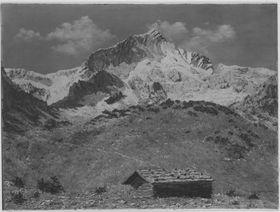 Gebirgslandschaft mit Alpspitze