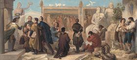 Mehrere Künstler erhalten Aufträge durch König Ludwig I.