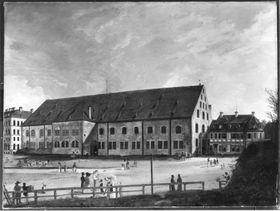 Die Alte Reitschule im Jahr 1821