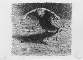 Der Tote Tag (Stürzende Frau)