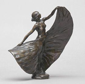 Die Tänzerin Loïe Fuller