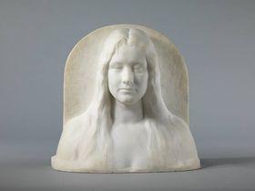Die Bildhauerin Irene Sattler